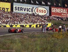 Belgian GP 1962, Hill & Rodriguez, Ferrari 156 (John Ross)...