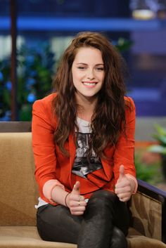 Kristen on Jay Leno, 04-05-2012 - kristen-stewart Photo