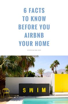 Thinking of Airbnb-ing your home? Read this first. #airbnbcoupon #airbnb #travel