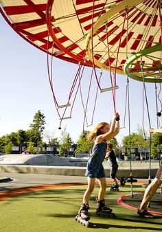 'energy carousel' by spanish architecture studio ecosistema urbano