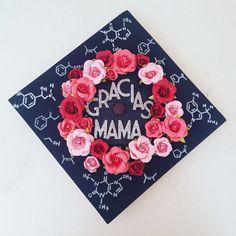 Chemistry/Spanish Graduation Cap