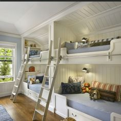 Bunk bed room for kids & cousins!