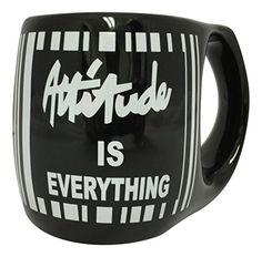 "Creative Motion ""Attitude is Everything"" Mug, Black"