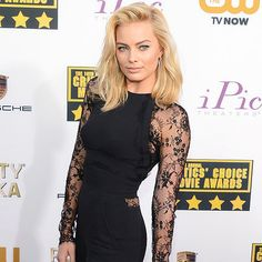 Margot Robbie 2014 Critics Choice Awards Dress