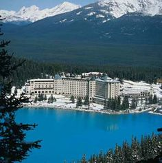 My first Epic hotel - Fairmont Chateau Lake Louise (we used to go for winter holidays)