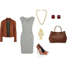 ESTILO CLASICO Gabriel, Cute Outfits, Street Style, Polyvore, Image, Fashion, Vestidos, Counseling, Elegant