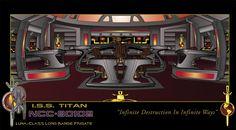 ISS Titan Bridge by stourangeau.deviantart.com on @deviantART The Bridge of the I.S.S.Titan