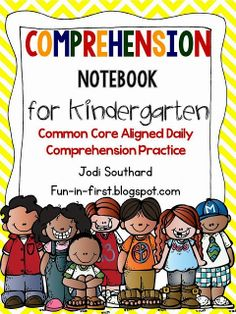 Kindergarten Comprehension Notebook {Also available for 1st and 2nd grade}