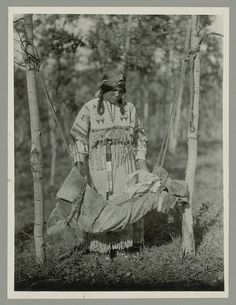 Assiniboine; Stoney  Assiniboine camp - 1890   Assiniboine couple - no date   Rattlesnake - Assiniboine - circa 1890   Eyes In The Water - Assiniboine - 1894   Little Chief - Assiniboine - 1894   Red