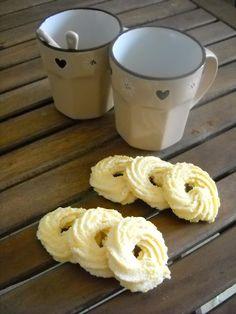 Ricette Barbare: Ciambelline di frolla montata Whipped Shortbread Cookies
