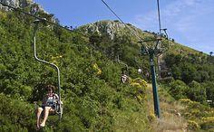 Chair lift to Monte Solaro (589m)