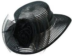 Summer Scala Dressy Hat with Flower