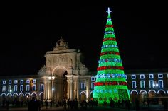Tower, Visit Lisboa, Building, Travel, Plaza, Portugal, Fireworks, End Of Year, Viajes