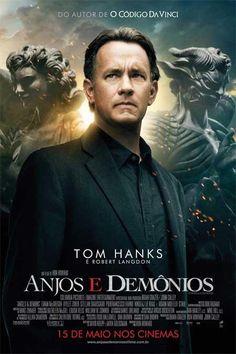Anjos e Demônios • 2009 • Direção: Ron Howard • Elenco: Tom Hanks, Ewan McGregor, Stellan Skarsgard • Gênero: Suspense