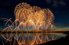 Photo Art  Night Photography  Fireworks   4th of by PhotoCatcher, $55.00