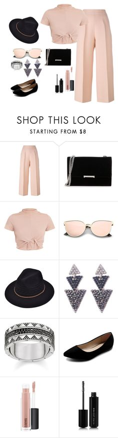 """Street Styles"" by meen16 ❤ liked on Polyvore featuring Fendi, Ivanka Trump, Thomas Sabo, Ollio, MAC Cosmetics and Marc Jacobs"