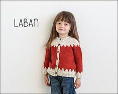 Laban from Knits for Little Scamps 1 - an 11 pattern ebook of kids knits / På dansk i bogen Strik til Banditter