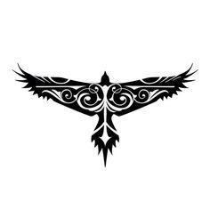 bird back symmetrical tattoo - Google Search