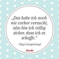 Das schönste Zitat von Pippi Langstrumpf