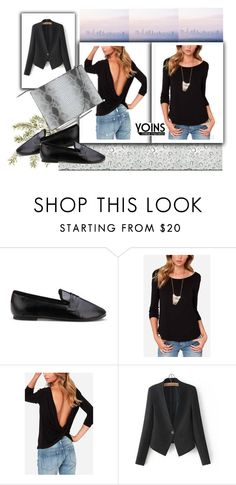 """YOINS 17"" by april-lover ❤ liked on Polyvore featuring moda ve yoins"