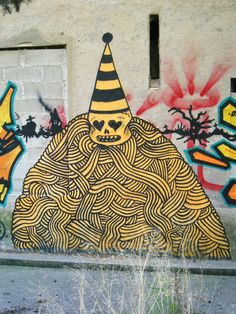 #streetart #goddog  clown maléfique by - GoddoG -, via Flickr Urban Street Art, Urban Art, Stencil Art, Stencils, Street Art Graffiti, Drawings, Fall, Illustration, Artwork