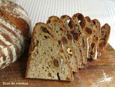 Bloc de recetas: Pan de espelta y trigo sarraceno con higos y nueces
