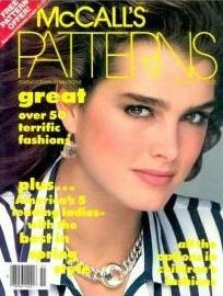 Brooke Shields cover McCall's Patterns magazine, Spring Beautiful Models, Beautiful Eyes, Brooke Shields Blue Lagoon, Brooke Shields Young, Terry Farrell, Beloved Film, Mccalls Patterns, Life Magazine, 50 Fashion