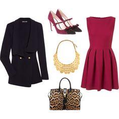 chic.  (6/8/2013) Women's Fashion: My Style I don't like the handbag. (CTS)