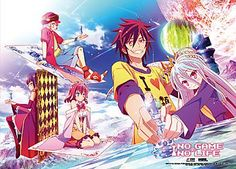 No Game No Life Wall Scroll - Chess