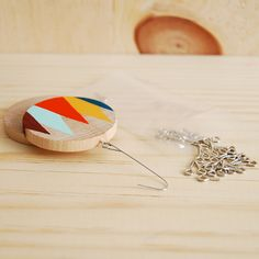 painted wooden ornaments