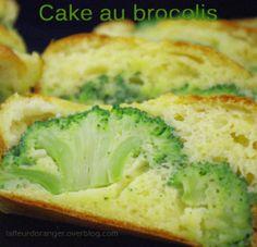 Cake salé aux brocolis
