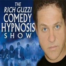 Win Tickets to see Hypnotist Rich Guzzi! - This Adult clean show is done with just the right amount of innuendo. It's actually three shows in one because Rich is part standup comic, part master hypnotist and part motivational speaker!