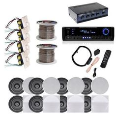 Pyle 6room Inceiling Speaker System Free Shipping Today