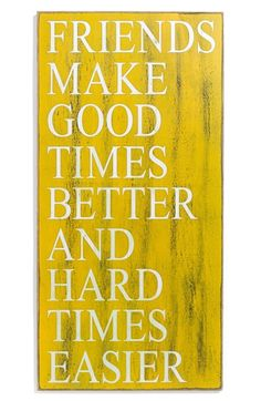 Primitives by Kathy 'Friends Make Good Times Better' Box Sign