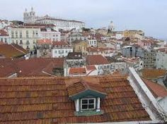 Image result for historical images of roof tops in portugal