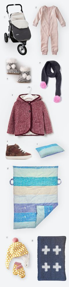 CULTURED. Blog - 10 Cold Weather Essentials for Baby