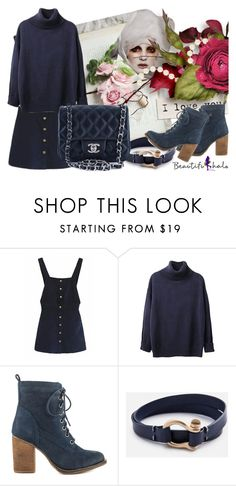 """bh 07 (125)"" by irinavsl ❤ liked on Polyvore featuring Steve Madden, Chanel, women's clothing, women, female, woman, misses, juniors, beautifulhalo and bhalo"