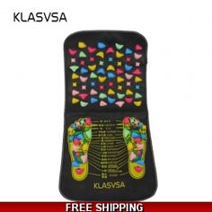 """KLASVSAâ""""¢ Reflexology Walk Stone Reflexology Foot Mat Pain Relieve Foot Leg Massager Mat Health Care Home Relaxtion black mat colorful stone * To view further for this item, visit the image link. (This is an affiliate link) Acupressure Mat, Foot Reflexology, Leg Pain, Traditional Chinese Medicine, Foot Massage, Foot Pads, Pain Relief, Health Care, How To Become"""