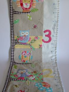 Owl Growth Chart By Roxy Creations