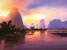 hong leung  - Landscape Paintings by Hong Leung  <3 <3