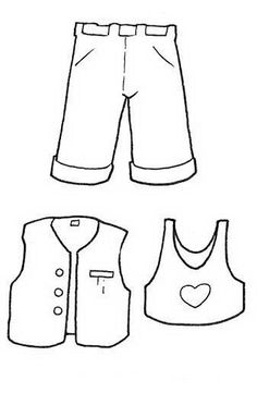 Clothing Coloring Pages 53 Online Coloring Pages, Colouring Pages, Coloring Pages For Kids, Coloring Sheets, Coloring Books, Free Printable Worksheets, Worksheets For Kids, Printable Coloring Pages, Printables