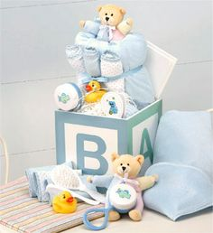 B-is-for-Baby Gift Cube