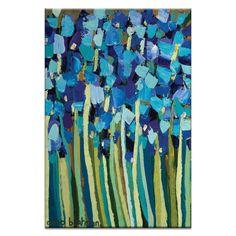 Iris by Anna Blatman Painting Print on Canvas