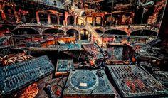 Fotos Increibles de Discotecas Abandonadas