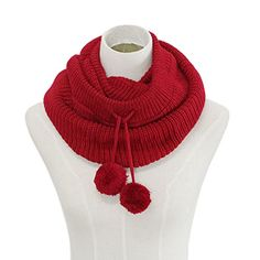 Maroon Red Chunky Knit Infinity Scarf Capelet Circle Loop Hood wonderfultrade http://www.amazon.com/dp/B00NLGJ5MY/ref=cm_sw_r_pi_dp_fgojub1KQ5Z6N