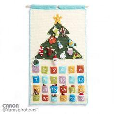 Free Intermediate Crochet Calendar