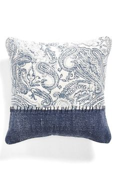 Free shipping and returns on Spencer N. Home Bandana Patchwork Pillow at Nordstrom.com. Muted paisley swirls and cool color blocking style a shabby-chic canvas pillow detailed in bold stitching.