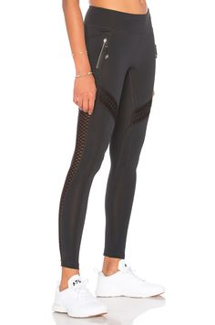 17ce81d54b6 Shop for lukka lux Okami Mesh Legging in Black Onyx at REVOLVE.