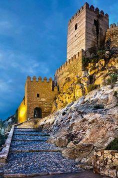 Alcazaba de Almería. Autor: desconocido AOVE lasolana2 https:lasolana2.es