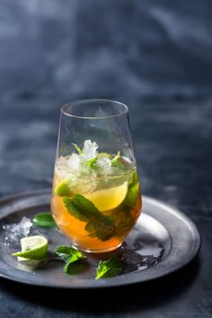 #Brandy #cocktails - #Bojito our brandy version of a #mojito. Very refreshing on a hot summer's day. #foodstyling #foodphotography #recipes #drinkideas